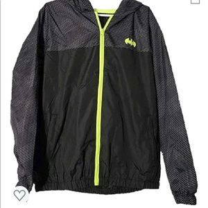 Batman Windbreaker Jacket Mens Size large NWT